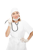 Nurse or Doctor Stock Image