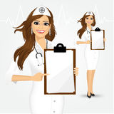 Nurse, doctor, healthcare and medicine Royalty Free Stock Images