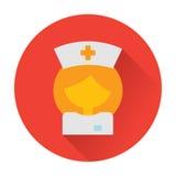 Nurse doctor icon Royalty Free Stock Image