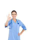 Woman doctor, nurse Royalty Free Stock Photography