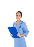 Woman doctor, nurse Stock Photo