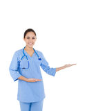Woman doctor, nurse Royalty Free Stock Images