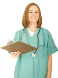 Nurse Hand Over Report Royalty Free Stock Image