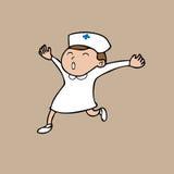 Nurse happy Stock Photos
