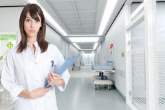 Nurse at the hospital Stock Photography
