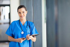 Nurse in hospital Royalty Free Stock Photos