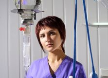 Nurse in hospital Royalty Free Stock Photo