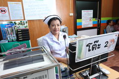 Nurse in hospital Stock Images