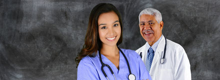 Nurse In Hospital Stock Image