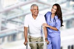Nurse In Hospital Royalty Free Stock Photos