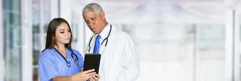 Nurse In Hospital Royalty Free Stock Photography