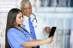 Nurse In Hospital Royalty Free Stock Images