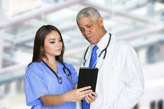 Nurse In Hospital Stock Photography