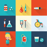 Nurse icons vector illustration