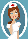 Nurse illustration Stock Photos