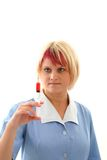 Nurse with an injection Stock Photography