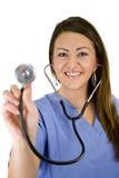 Nurse Isolated on white Stock Photography