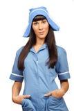 Nurse isolated on white background Stock Photography