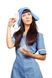 Nurse isolated on white background Stock Image
