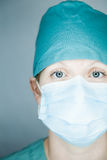 Nurse looking at you Royalty Free Stock Images