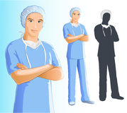 Nurse (man) Stock Image