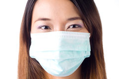 Nurse with mask Stock Photos