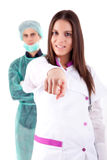 Nurse and medic Stock Photo