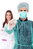 Nurse and medic Royalty Free Stock Images