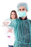 Nurse and medic Stock Images