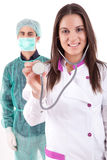 Nurse and medic Royalty Free Stock Photos