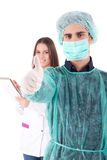 Nurse and medic Stock Photography