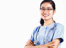 Nurse medical succes Stock Photos