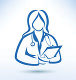 Nurse, medical worker Royalty Free Stock Image