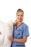 Nurse of midwife Royalty Free Stock Image