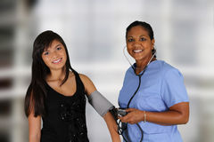 Nurse and Patient Royalty Free Stock Photography