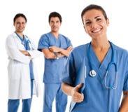Nurse portrait Stock Photography