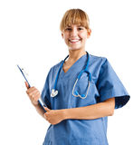 Nurse portrait Royalty Free Stock Image