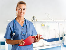 Nurse portrait Royalty Free Stock Photos