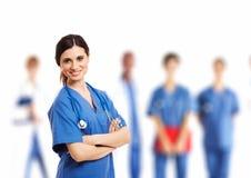 Nurse portrait Stock Image