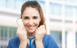 Nurse portrait Royalty Free Stock Photo