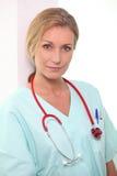 Nurse posing Royalty Free Stock Photos