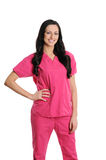 Nurse in scrubs Royalty Free Stock Photography