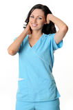 Nurse in scrubs Royalty Free Stock Photo