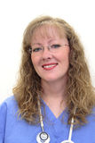 Nurse in scrubs Stock Image
