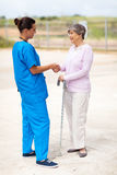Nurse senior patient Royalty Free Stock Photography