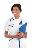 Nurse smile Stock Photo