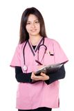 Nurse smile Royalty Free Stock Photo