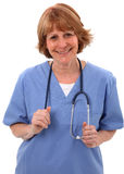 Nurse Smiling At Camera Royalty Free Stock Images