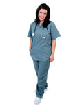 Nurse Standing Royalty Free Stock Photography