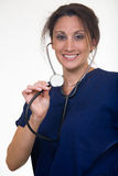 Nurse stethoscope Stock Photography